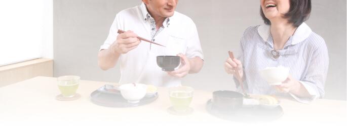 50代の食事風景